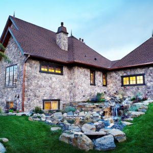 add elegance with exterior stone veneer applications